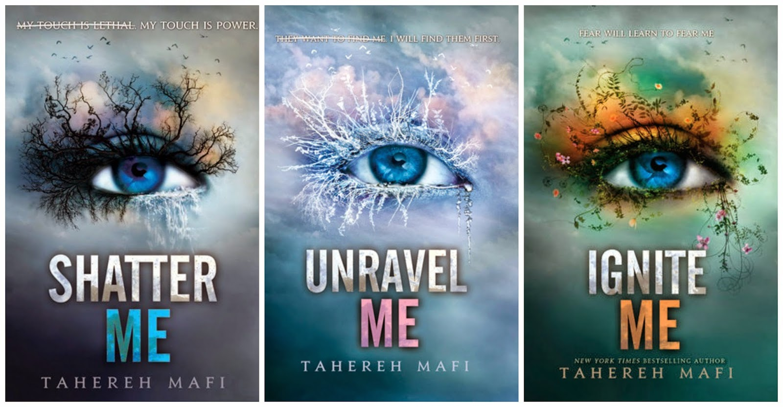 The Lowdown: Shatter Me Series by Tahereh Mafi - The Literary Files